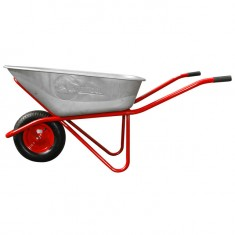 "Wheel barrow 100L, 180KG, 1 airwheel with bearing 15"" INTERTOOL WB-1015: фото 4"