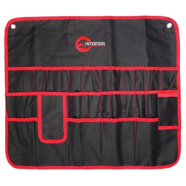 Cover for spanners, 30 pockets, 560x485 mm INTERTOOL BX-9010