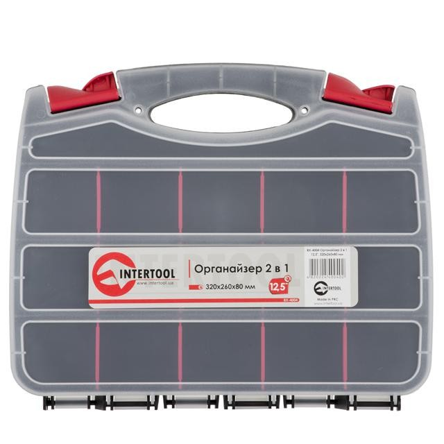 "2 in 1 organizer 12.5"", 320x260x80 mm INTERTOOL BX-4004"