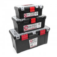 "3 in 1 tool box (BX-0125 13"" BX-0016 16"" BX-0205 20.5"") INTERTOOL BX-0003"