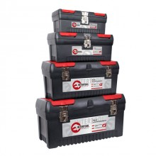 "4 in 1 tool box with metal locks (BX-1013 12.5""/BX-1016 16""/BX-1019 19""/BX-1024 24"") INTERTOOL BX-0004"