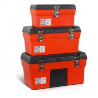 "3 in 1 tool box with metal locks (BX-1113 13""/BX-1116 16.5""/BX-1119 19"") INTERTOOL BX-0006"