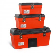 "3 in 1 tool box with metal locks (BX-1113 13""/BX-1116 16.5""/BX-1123 23.5"") INTERTOOL BX-0007"