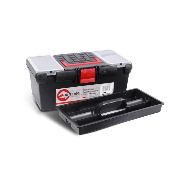 "Tool box 16"" 396x216x164 mm INTERTOOL BX-0016"