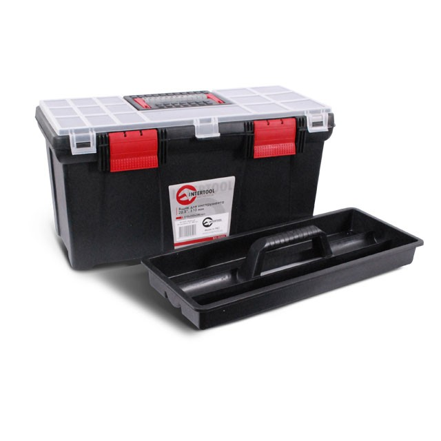 "Tool box 20.5"" 508x247x241 mm INTERTOOL BX-0205"