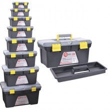 "Tool box set - 8pcs, 10"", 12"", 14"", 16.5"", 18.5"", 21"", 23.5"", 26.5"" INTERTOOL BX-0308"