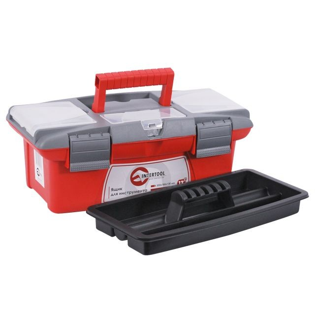 "Tool box - 13"" 335x185x130mm INTERTOOL BX-0413"