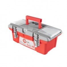"Toolbox with locks 13"", 335x185x130 mm INTERTOOL BX-0513"
