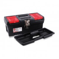 "Tool box with metal locks 13"" 330x177x135 mm INTERTOOL BX-1013"