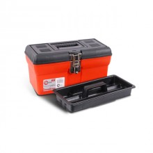"Tool box with metal locks 13"" 330x180x165mm INTERTOOL BX-1113"
