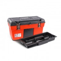 "Tool box with metal locks 19"" 483x242x240mm INTERTOOL BX-1119"